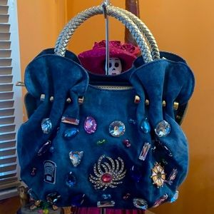 The denim dazzle satchel!